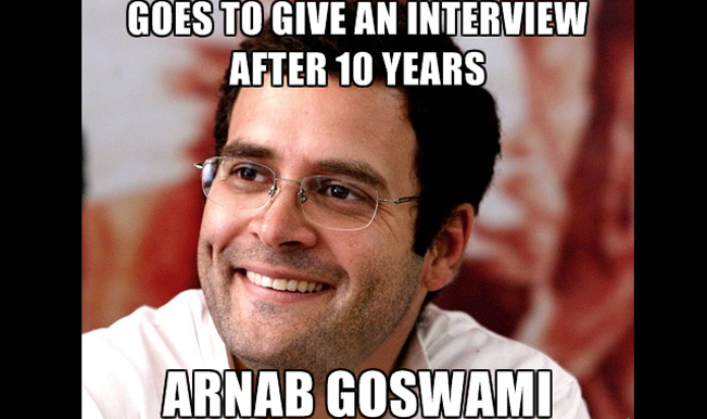 When Rahul and Arnab Met..