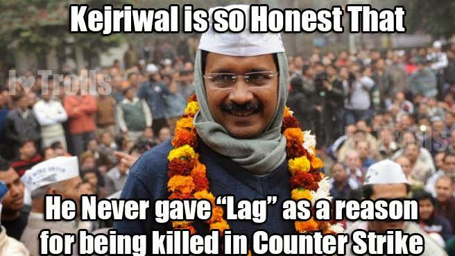 Arvind Kejriwal - Counterstrike Humor
