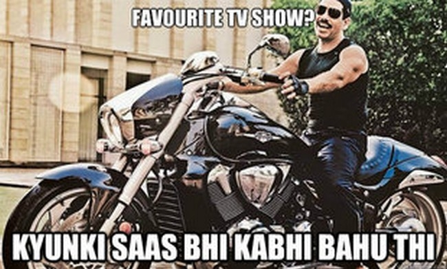 robert vadra meme, guess his fav. TV show?