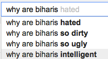 Why are Biharis