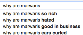 why are marwaris