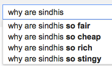 why are sindhis