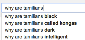 why are tamilians
