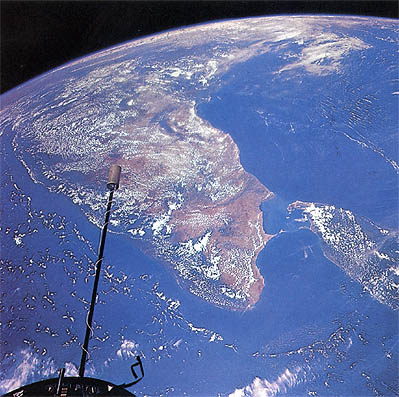 India, from Space: Photo Source: NASA